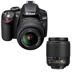 Nikon D3200 Camera with 18-55mm and 55-200mm
