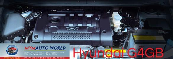 Imported used  HYUNDAI ELANTRA 1.8L 16VG4GB ,Complete second hand used engine