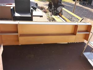 Light wooden headboard for sale
