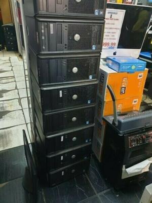 Description: Dell · OptiPlex · Windows · Tower · 3 GHz processor · Intel GPU · 2 GB RAM · 250 GB Storage ·