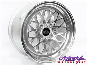 15 INCH  Evo DS1 4-100 Alloy Wheels
