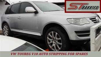 VW TOUREG V10 AUTO...STRIPPING FOR SPARES!!!