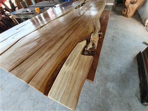 Hard Wood Live Edge Slabs and Furniture