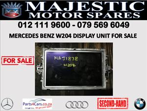 Mercedes benz W204 display unit for sale