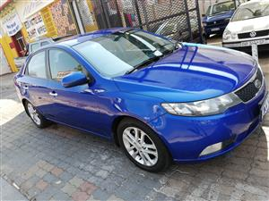 2012 Kia Cerato 1.6 EX 4 door automatic
