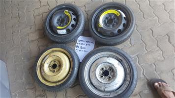 Spare Wheel 4 x100 PCD