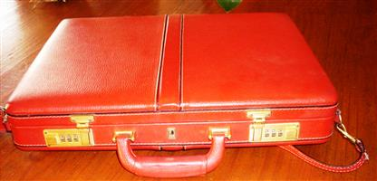 Ladies Leather Attachee case