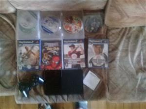 Ps2 with 12 games
