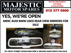 Mercedes benz audi bmw used rear view mirror for sale