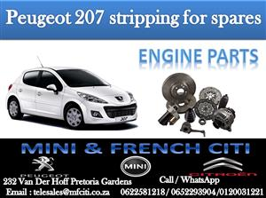 Wide Variety of Peugeot 207 Engine Parts for sale contact us today and get great deals!!!