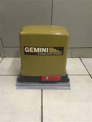 Gemini 7AH ,  brand new in box ,24 months warrenty motor 4m rack and baseplate
