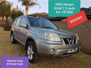 2003 Nissan X-Trail 2.5 4x4 LE