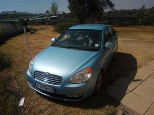 2010 Hyundai Accent sedan 1.6 Fluid auto