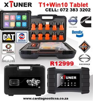 XTUNER T1 HD Heavy Duty Trucks Auto Diagnostic Tool With tablet full kit NOW IN STOCK