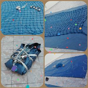 Sails PVC Tarpaulin and Cargo Nets FOR SALE