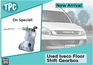 Used Floor Shift Gearbox for Iveco Daily  for sale at TPC