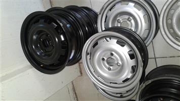 opel corsa and chev utility stardard steal rims
