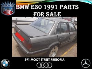 Bmw E30 1991 parts for sale