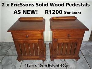 EricSsons Solid Wood Pedestals