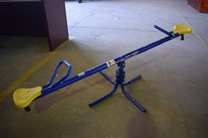 Blue toddler seesaw for sale