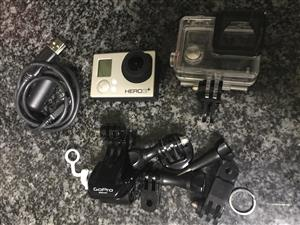 GOPRO HERO 3+ (SILVER EDITION) - WITH WATERPROOF CASE & USB
