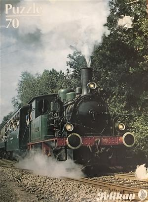 Old Locomotive Puzzle