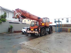 Used 2003 Liebherr 30 Ton Rough Terrain Crane for sale