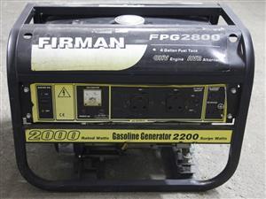 Firman generator FP62800 S037398A #Rosettenvillepawnshop