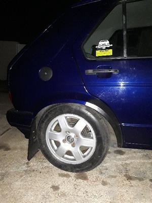 Golf 1 flower rims for swop pf for sale