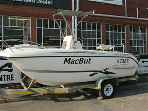 Kosi Cat 17 C/C with 2 x Yamaha 90HP Motors
