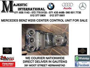 Mercedes benz W205 center control unit for sale