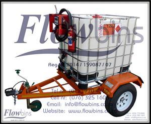 1000Lt Diesel Bowsers 12V / 220V - Bakkie Skids / Trailers / Stationary Units from R4350