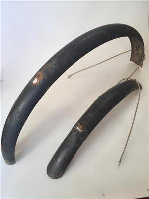 Set of Vintage bicycle mudguards set