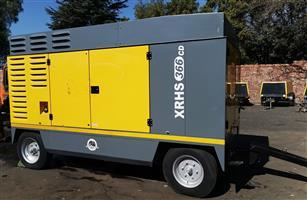 Atlas Copco 750cfm / 21 Bar Diesel Compressor