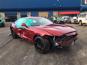 Accident damaged 2016 Ford Mustang for sale