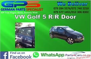 VW Golf 5 R/R Door 2005 for Sale
