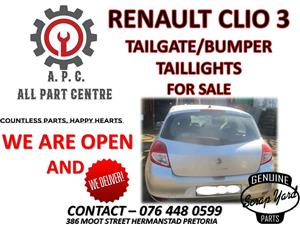 Renault Clio 3 face lift used spares for sale