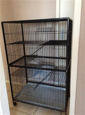 Animal Cage - Height 1400 mm, Depth 600 mm, Width 950 mm