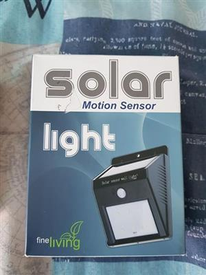 Solar motion sensor light for sale