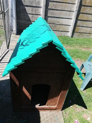 Large. Dog kennel