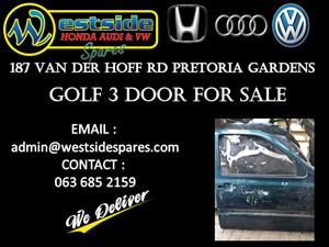 GOLF 3 DOOR FOR SALE