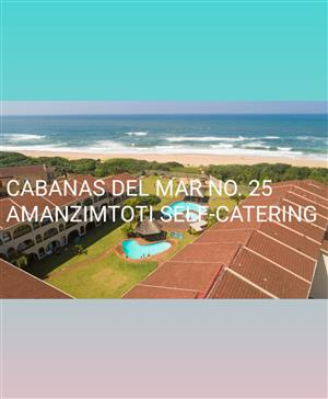 WEEKEND SPECIAL 12 TO 14 JULY -2 BED-SELF-CATERING-ON THE BEACH-MAX6-GROUND FLOOR UNIT-AMANZIMTOTI-COMFORT & CLEAN-24 HR SEC