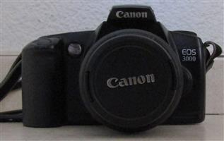 Canon EOS 3000 with Shoulder Strap