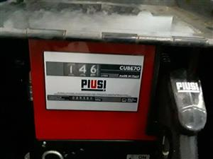 Portable Diesel pump – PIUSI complete with hoze, nozzle and mechanical metre – R6 500.00