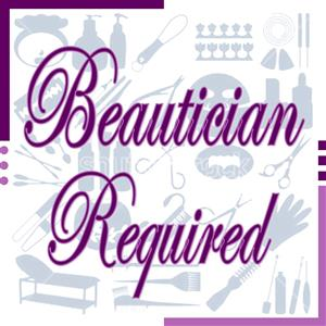 Beautician And Hairstylist Required to Rent