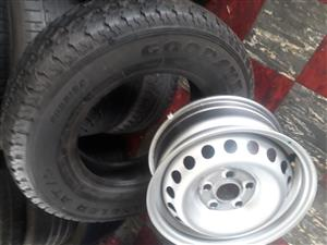 "16"" Amarok rim and tyre for spare wheel"
