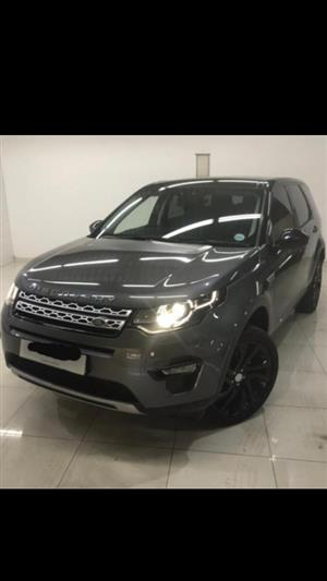2017 Land Rover Discovery Sport DISCOVERY SPORT 2.0 Si4 HSE