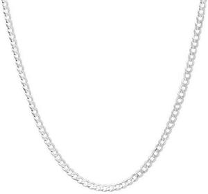 New york solid silver sterling necklace unisex,brand-new.