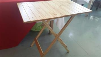 New Wood Folding Camping Tables for sale