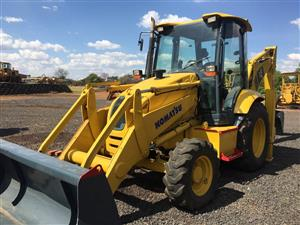 Komatsu WB93R 2x4 TLB Pre-Owned Other